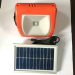 Solar Powered Camping Lantern With Mobile Phone Charger