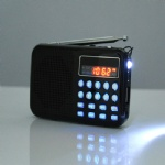 Fashion Mini FM Radios with Digital tuning