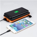 Solar Wireless Power Bank Charger