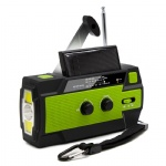 Emergency Charger Hand Crank Am FM Noaa Weather Flashlight Radio with Automatic Flashlight and Power Bank