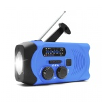 Portable Camping Waterproof Dynamo Emergency Pocket Weather Band Solar Radio
